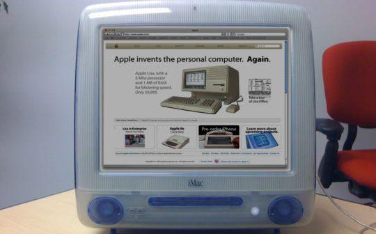 web-de-apple-20-años