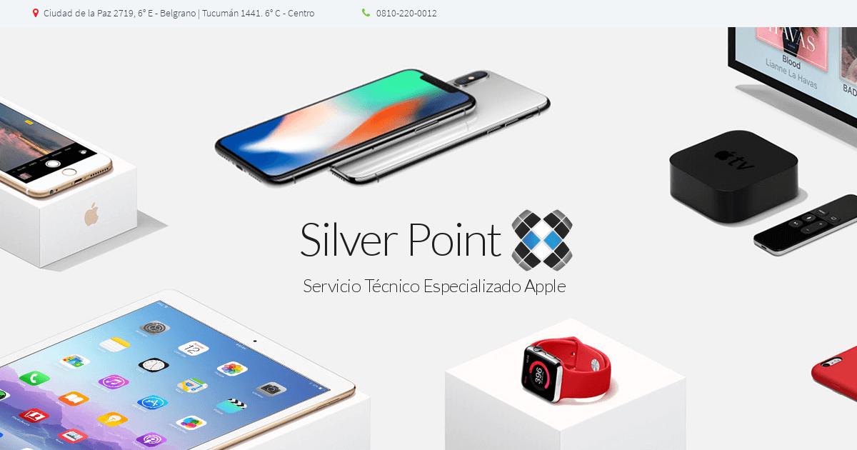 13a27a56b1c Silver Point Service » Servicio Técnico Especializado Apple