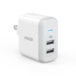 Cargador Anker Power Qi + 2 Usb Alta Velocidad