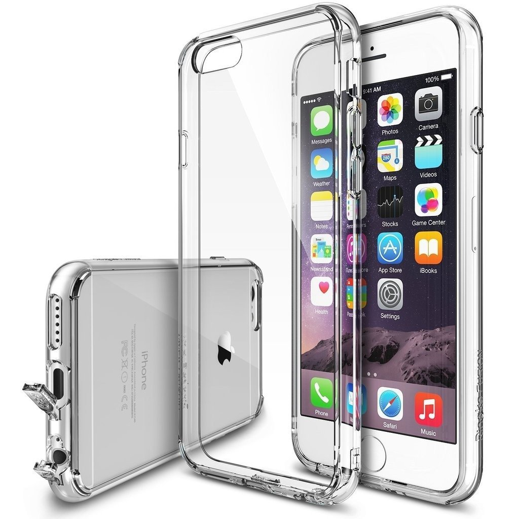 Funda Ringke Fusion para iPhone 6 Plus / 6s Plus - CLEAR