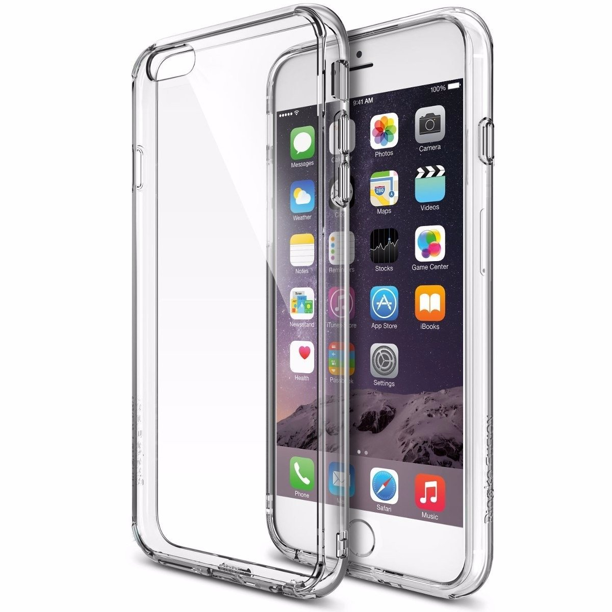 Funda Ringke Fusion para iPhone 7 plus / 8 plus - clear