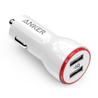 Cargador Auto Doble USB Anker